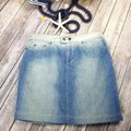 Gianfranco Ferre Jean Mini Made In Italy Fashion Mini Skirt Blue Image 1