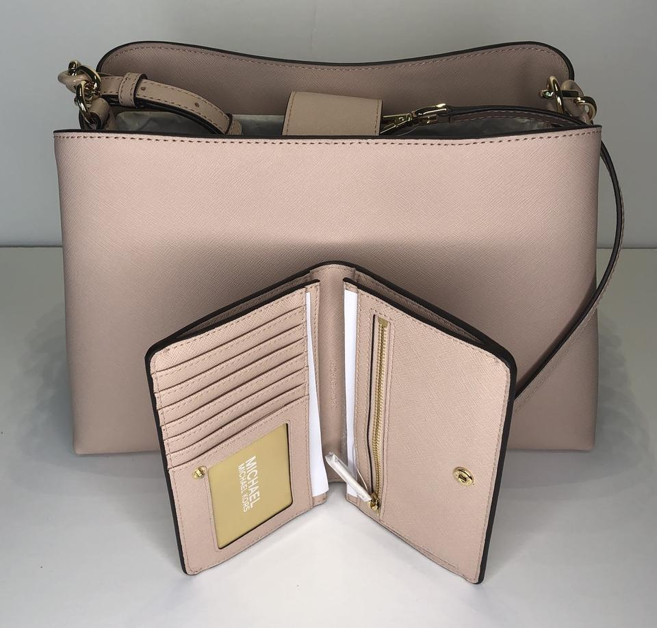Michael Kors Sofia Large Ew Tote Bundled With Ballet Leather Satchel