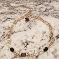 Periwinkle by barlow NWT Gold Periwinkle Crystal Necklace / Choker Image 3