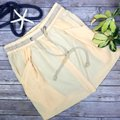 See by Chloé Made In Italy Silk Summer Mini Skirt Beige Image 6