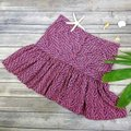 See by Chloé Made In Italy Silk Summer Mini Skirt Purple & Navy Image 3