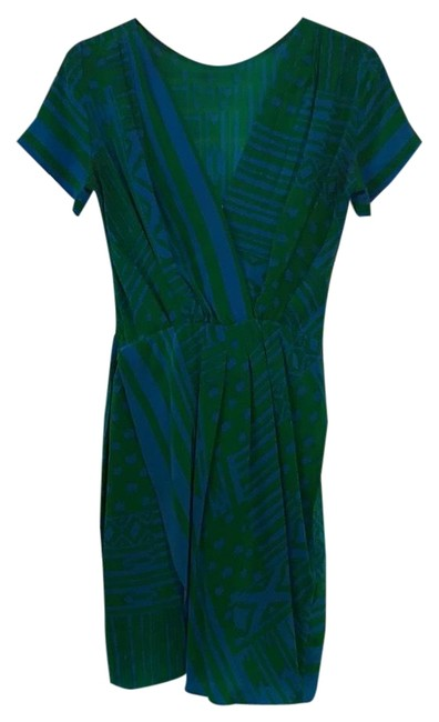 Preload https://img-static.tradesy.com/item/24863067/bcbgmaxazria-green-and-blue-do-not-have-mid-length-cocktail-dress-size-0-xs-0-1-650-650.jpg