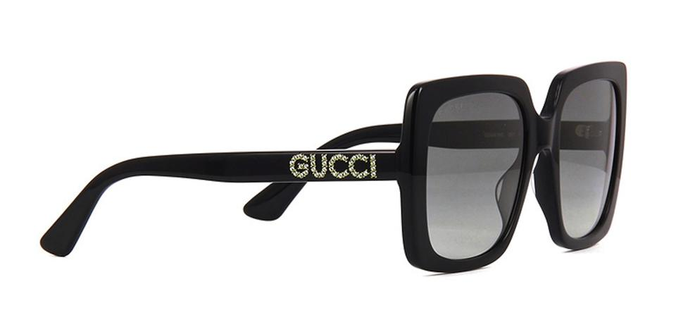 0b57dd4956e Gucci Black With Crystals Large Style Gg0418s 001 -free and Fast Shipping - Large  Sunglasses
