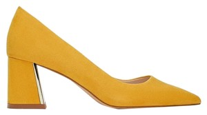 Zara mustard Pumps