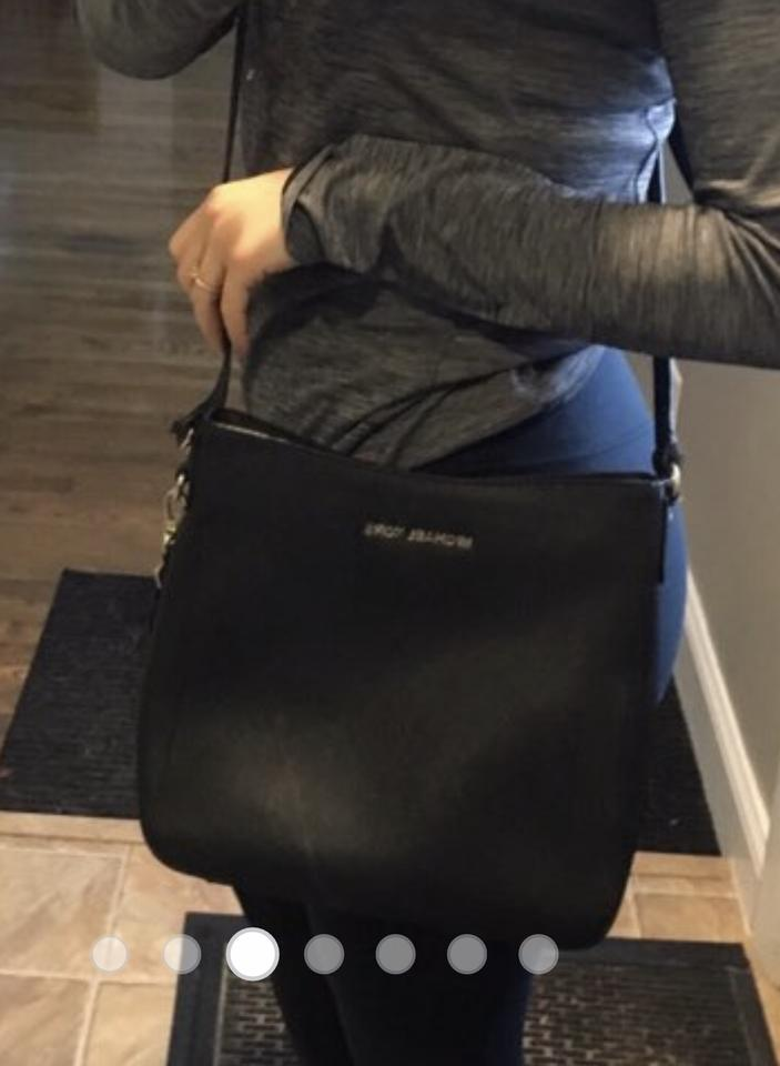 100% satisfaction best authentic extremely unique MICHAEL Michael Kors Messenger Crossbody/ Black Mercer Pebble Leather Cross  Body Bag 51% off retail