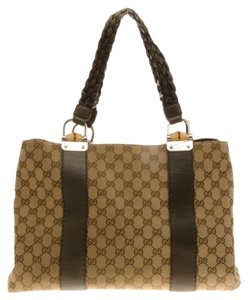 3084951733f Gucci Bamboo Totes - Up to 70% off at Tradesy