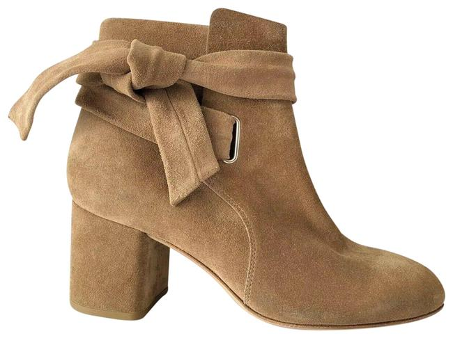 Item - Camel Dalia Suede Ankle-tie Boots/Booties Size EU 35 (Approx. US 5) Regular (M, B)