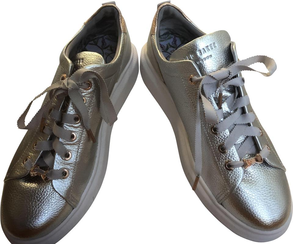 61497b0f92e Ted Baker Silver Ailbe Sneakers Size US 9.5 Regular (M