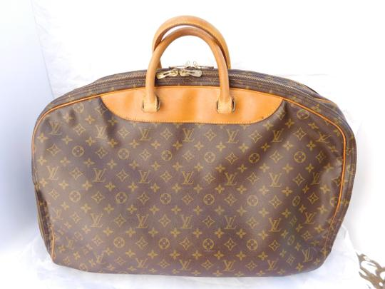 495aede2a946 Louis Vuitton Alize Luggage Suitcase Carry On Brown Monogram Travel Bag  Image 2