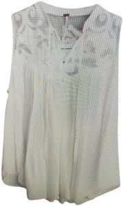 Free People Hobo Casual Top white