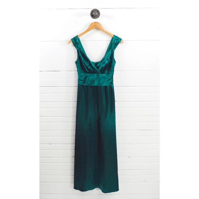Dessy Green Collection Evening Gown #101-34 Long Formal Dress Size 4 (S) Dessy Green Collection Evening Gown #101-34 Long Formal Dress Size 4 (S) Image 1