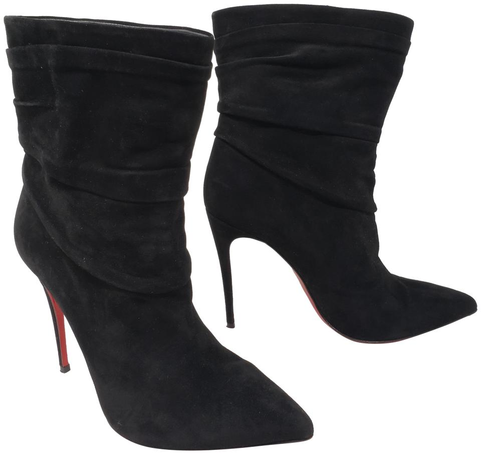 886f7153883 Christian Louboutin Black Suede So Kate Pointed-toe Ankle Boots/Booties  Size EU 37.5 (Approx. US 7.5) Regular (M, B) 23% off retail
