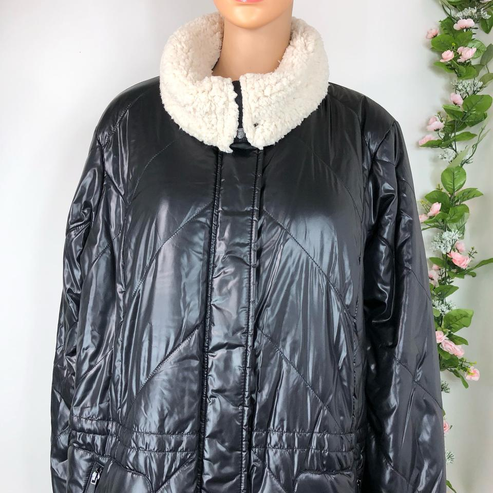 ed90bd6f26c Kenneth Cole Black Coat Size 20 (Plus 1x) - Tradesy