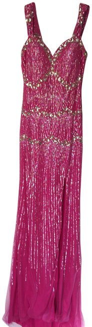 Item - Pink Sequin Gown-nwt Long Formal Dress Size 4 (S)
