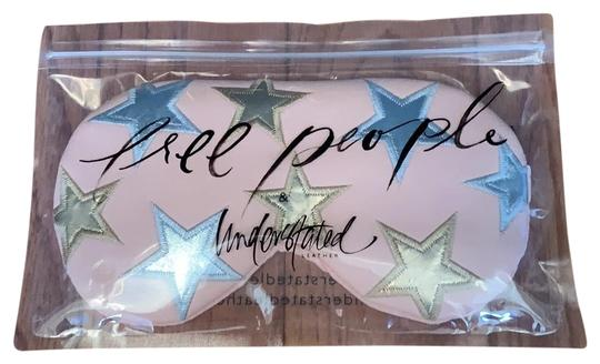 Free People Blush With Silver And Gold Leather Eye Sleeping Mask Tradesy