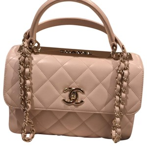 5cca9bd70359 Added to Shopping Bag. Chanel Shoulder Bag. Chanel Trendy Cc Small Baby Pink  Lambskin Leather ...