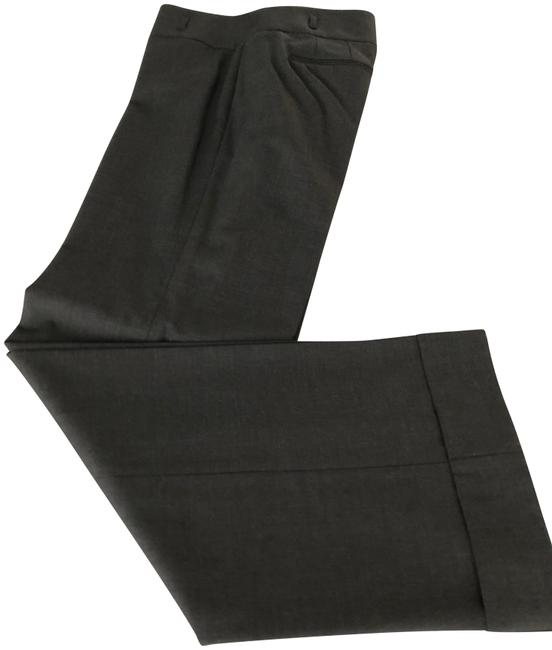 Ann Taylor Charcoal Gray Wide Legged Lined All Season Pants Size 8 (M, 29, 30) Ann Taylor Charcoal Gray Wide Legged Lined All Season Pants Size 8 (M, 29, 30) Image 1