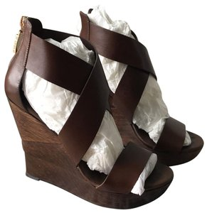 6d3804a210bf1 Diane Von Furstenberg Shoes Dvf Brown Wedges With Colorful