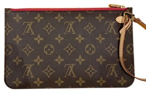 Louis Vuitton Wristlet in Pivoine