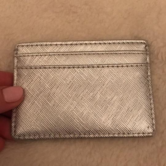 Tory Burch silver cardholder Image 1