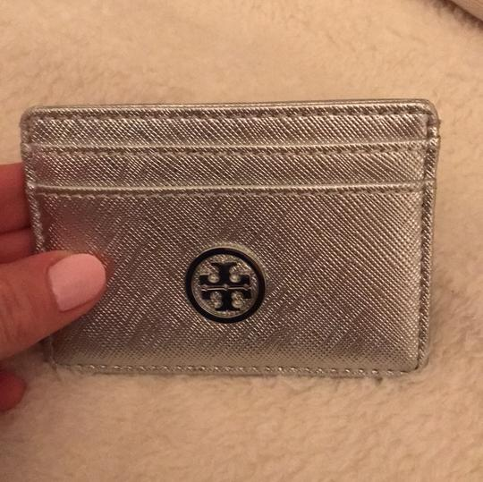 Tory Burch silver cardholder Image 3
