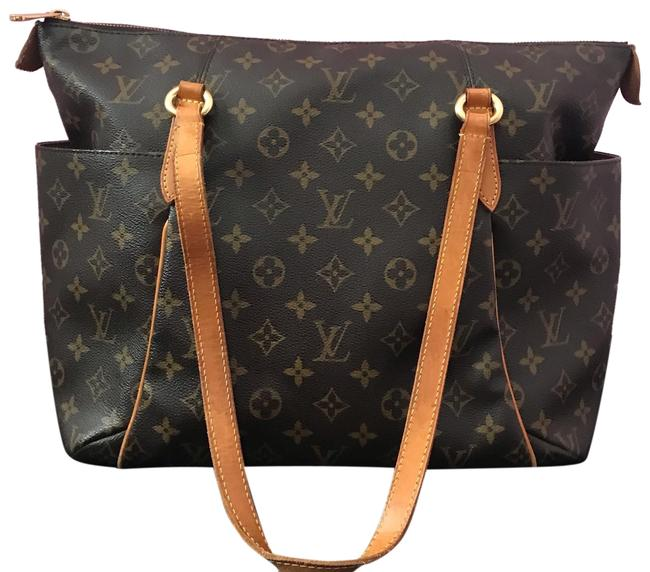 Louis Vuitton Totally Shoulder Bag Mm Monogram Tote Louis Vuitton Totally Shoulder Bag Mm Monogram Tote Image 1