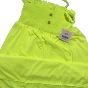 Juicy Couture short dress Neon Yellow on Tradesy