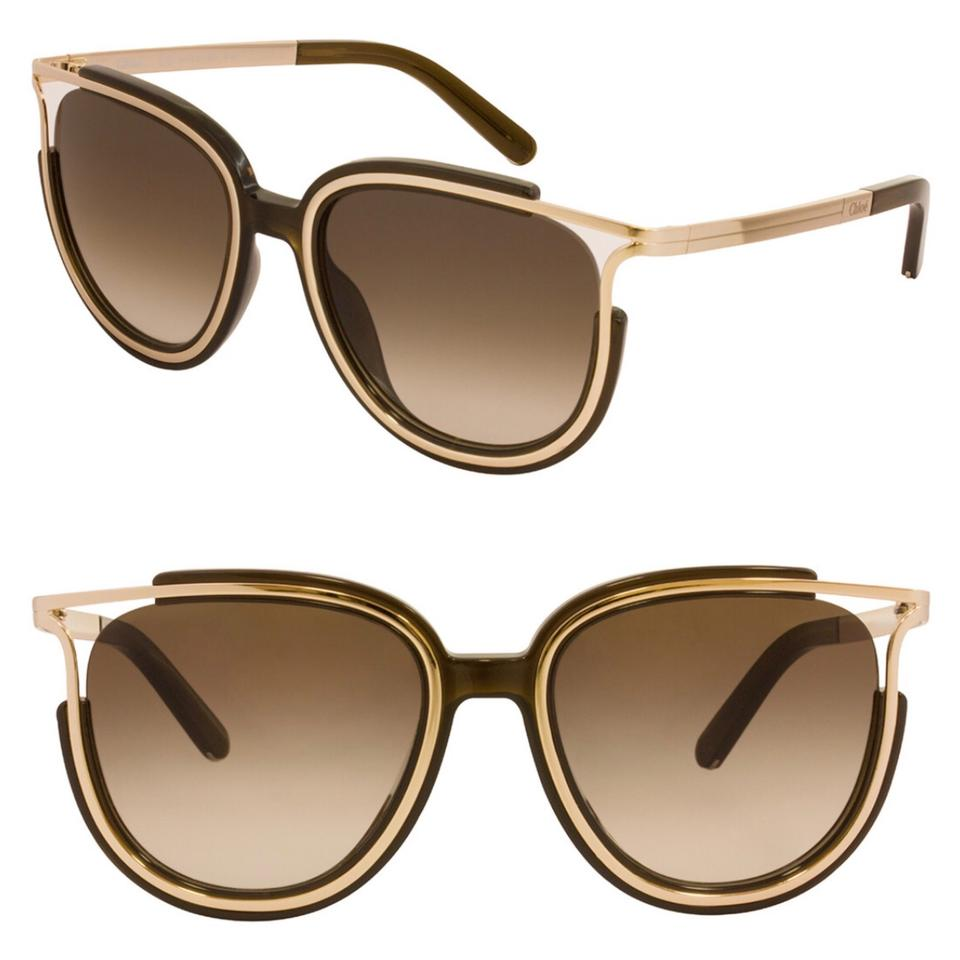 3e0f79202993 Chloé Brown Women s Ce688s 54mm Sunglasses - Tradesy