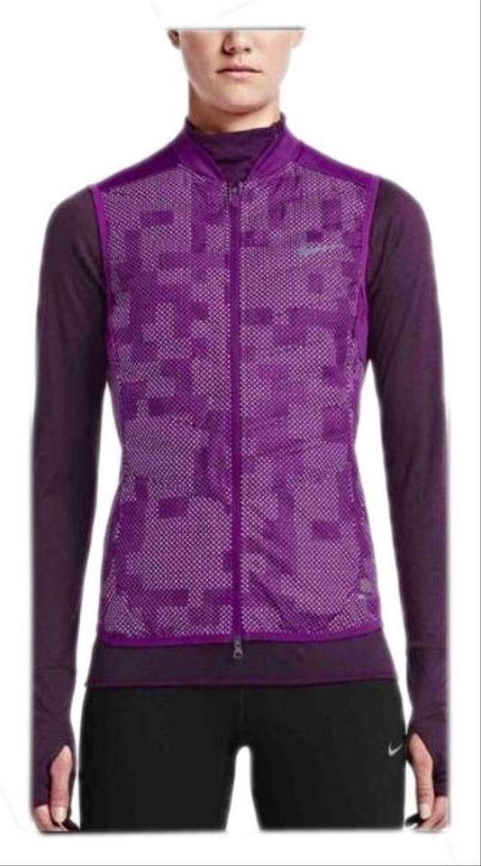 177f0f94214d Nike Nike Women s Aeroloft Flash Reflecting Running Vest Size XS PURPLE  Image 0 ...