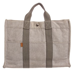 Hermès Tote in Light Gray