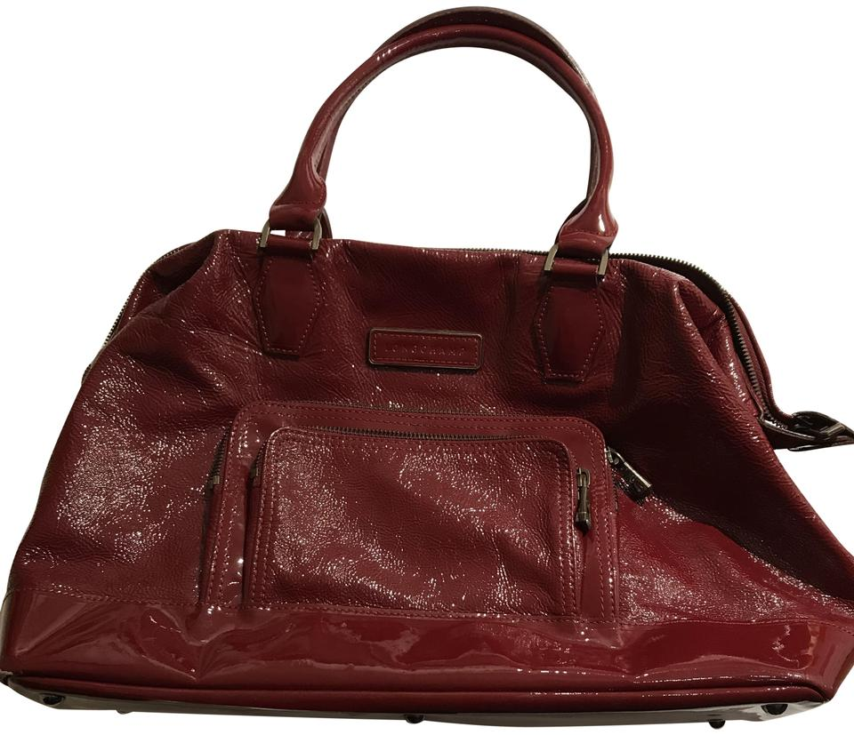 737e75aa54a2 Longchamp Legende Vernis Large Burgundy Patent Leather Tote - Tradesy