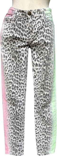 Item - Multicolored Coated The Stiletto Skinny Jeans Size 28 (4, S)