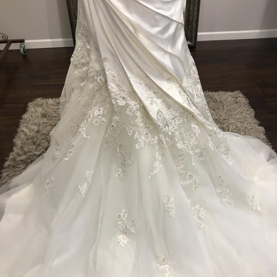 Cost Of Sophia Tolli Wedding Gowns: Sophia Tolli Ivory Paris Satin Lace Tulle Y11317 Cashmere