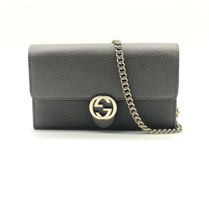 7a00418c293 Gucci Cross Body Bag · Gucci. Wallet on Chain Gg Interlocking Leather Cross  Body Bag