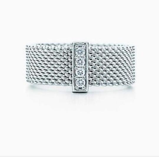 Tiffany & Co. Retired diamond somerset wide band ring Image 11