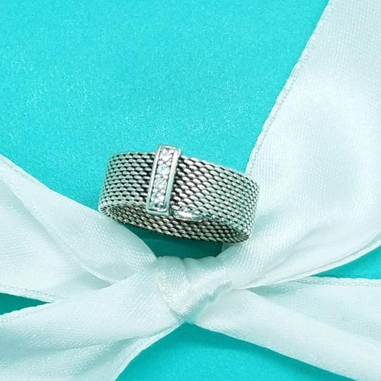 Tiffany & Co. Retired diamond somerset wide band ring Image 3