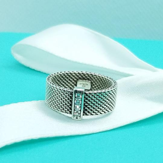 Tiffany & Co. Retired diamond somerset wide band ring Image 9