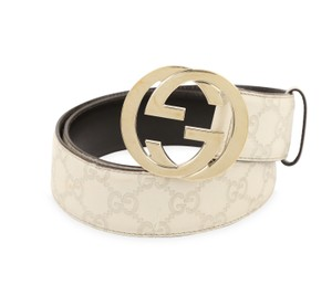 87ccf545a Beige Gucci Belts - Up to 70% off at Tradesy