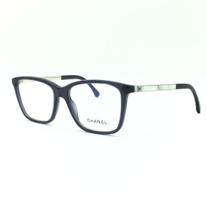 Chanel Blue and Silver Square Eyeglasses 3331 1544