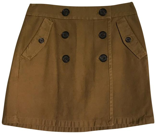 Item - Brown New Cotton Front In Skirt Size 4 (S, 27)