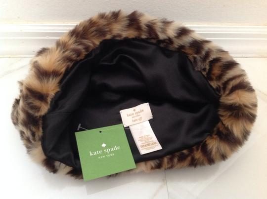 Kate Spade Faux Leopard hat with ears Image 2