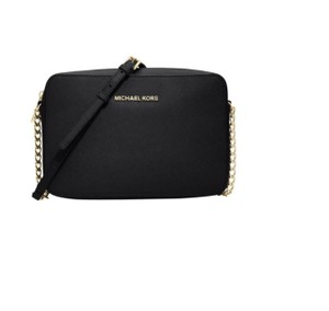78b7599bf183 Added to Shopping Bag. Michael Kors Leather Cross Body Bag. Michael Kors  Jet Set Large East West Black ...