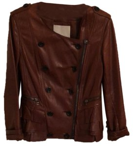 3.1 Phillip Lim Brown/mid tan Leather Jacket