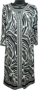 Dana Buchman short dress BLACK/WHITE on Tradesy