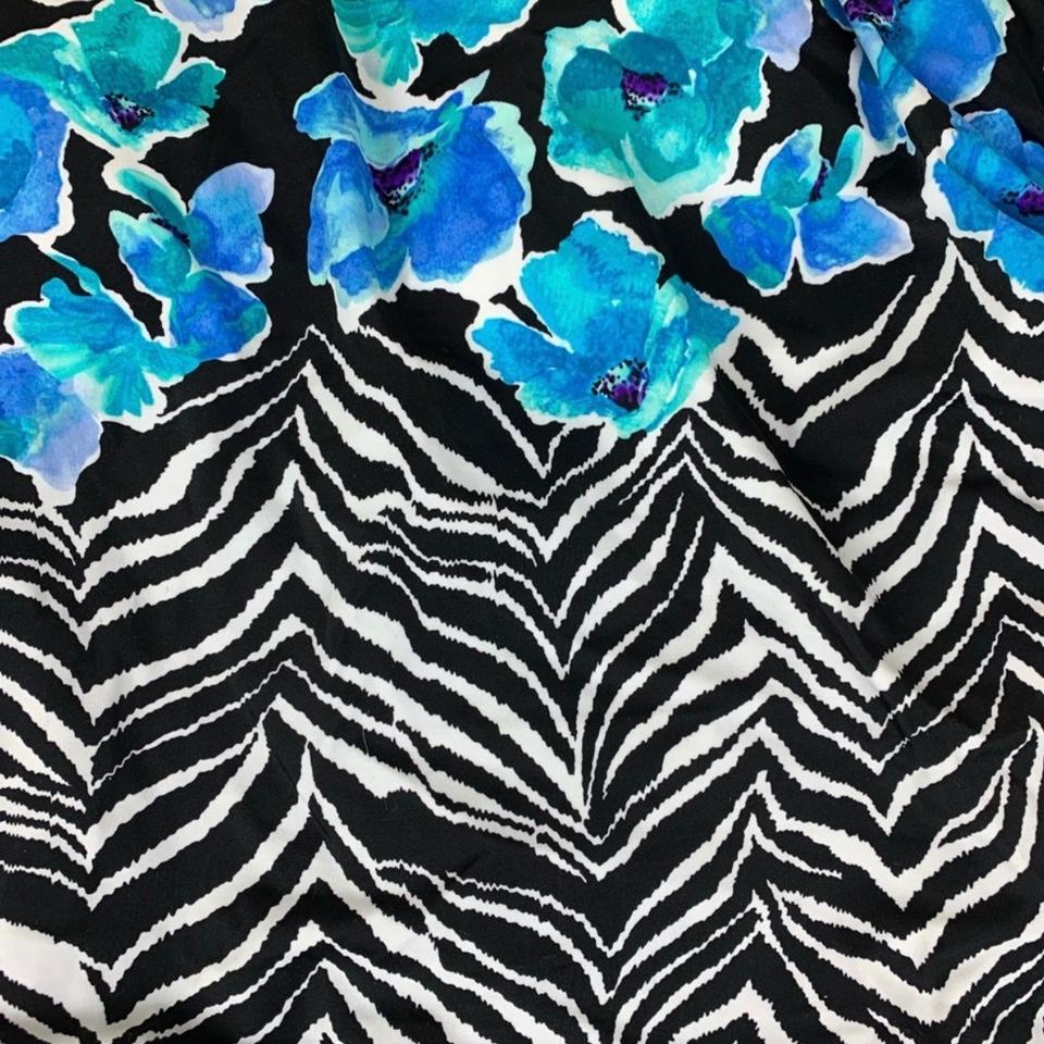 3a8c0a0cf84 Maxine of Hollywood Maxine of Hollywood zebra garden faux tankini one piece  swimsuit Image 7. 12345678