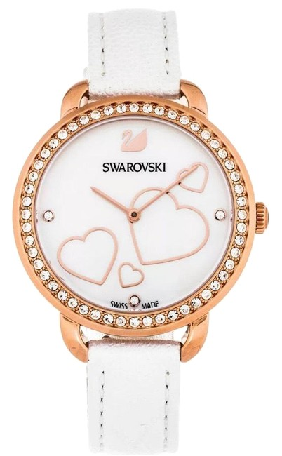 Item - Rose Gold and White Box In Gift Set Watch