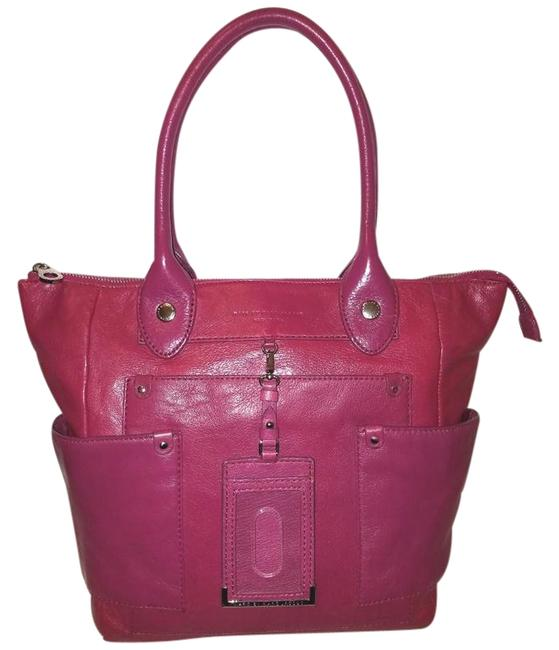 Item - Handbag Extra-large with A Zipper Closure Pink Leather Hobo Bag