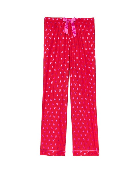Victoria's Secret Red Flannel Pants Size 4 (S, 27) Victoria's Secret Red Flannel Pants Size 4 (S, 27) Image 1