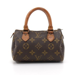 edb81d758e05 Added to Shopping Bag. Louis Vuitton Hobo Bag. Louis Vuitton Speedy Vintage  Mini Sac Hl Monogram Hand Brown Canvas ...