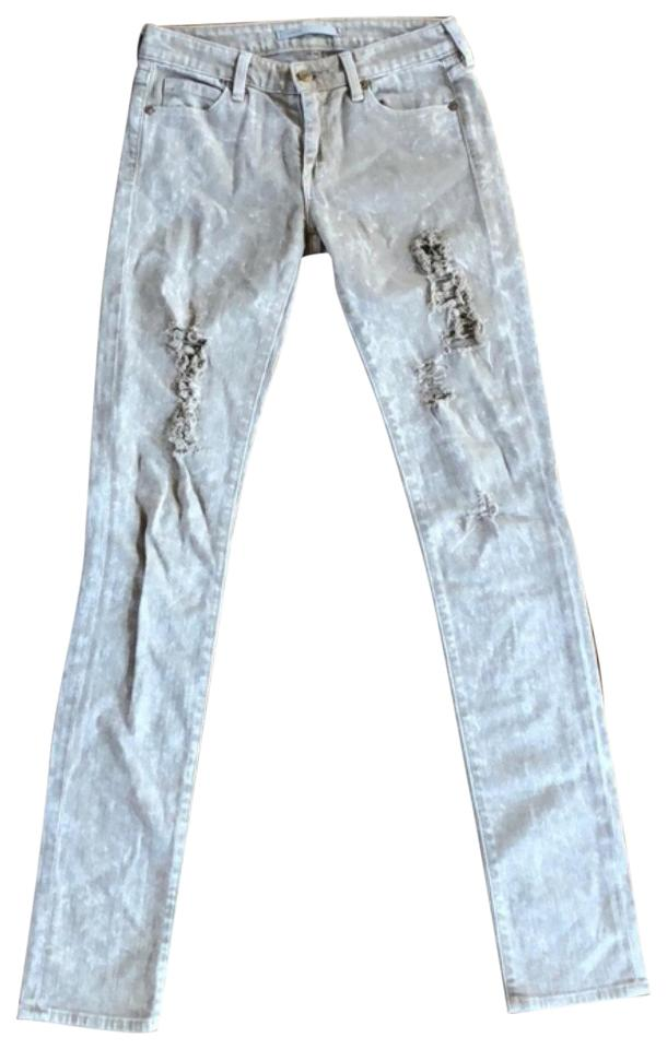 0f76f16ed29 Vince Brown Distressed Skinny Jeans Size 0 (XS, 25) - Tradesy